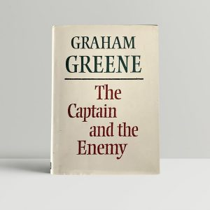 graham greene the captain and the enemy first edition1