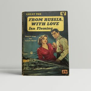 ian fleming frwlgg first edition paperback1