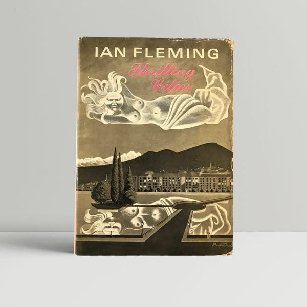 ian fleming thrilling cities first edition1