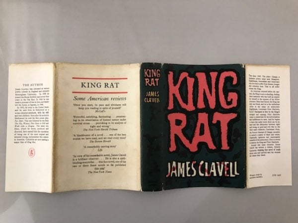 james clavell king rat first edition4