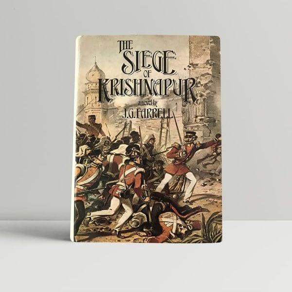 jg farrell the siege of krishnapur first edition1