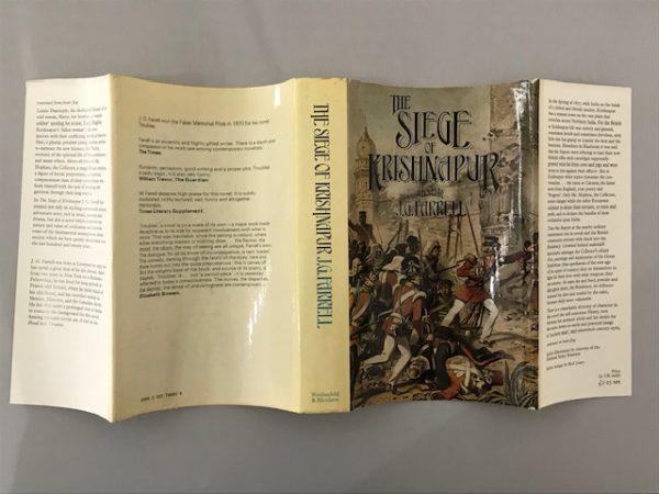 jg farrell the siege of krishnapur first edition3