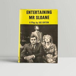 joe orton entertaining mr sloan first edition1