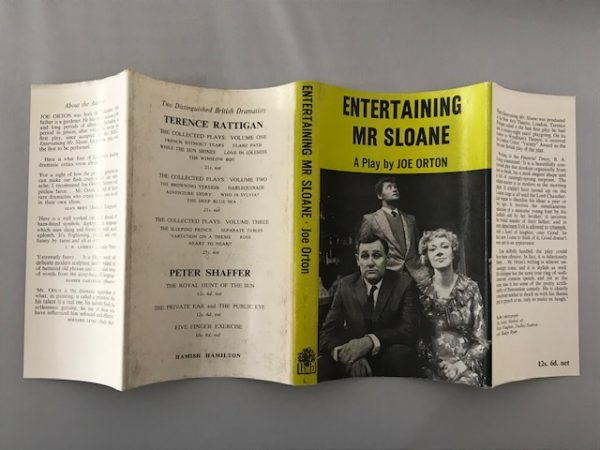 joe orton entertaining mr sloan first edition3
