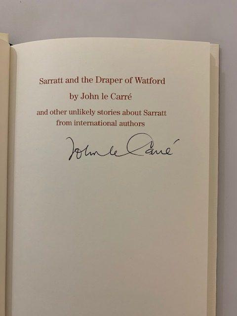 john le carre sarratt and the draper of watford signed1