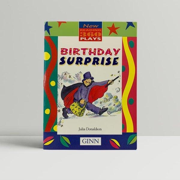 julia donaldson birthday suprise first edition1