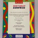 julia donaldson birthday suprise first edition3