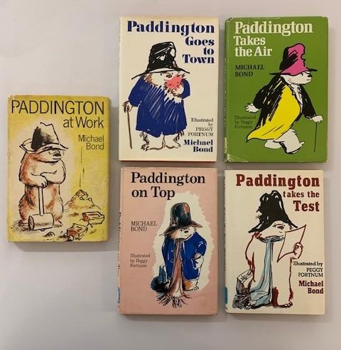 michael bond paddington bear collection3