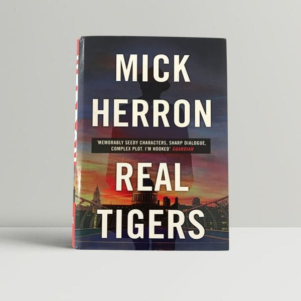 mick herron real tigers first edition1
