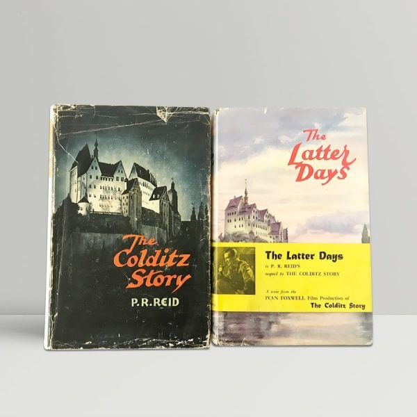 pr reid colditz story the latter days first editions1