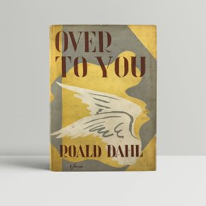 roald dahl over to you signed first edition1