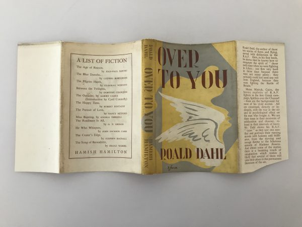 roald dahl over to you signed first edition5
