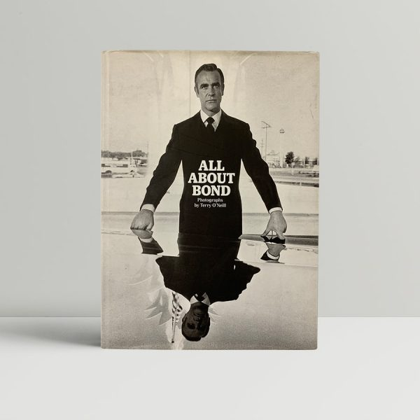 terry oneill all about bond signed first edition1
