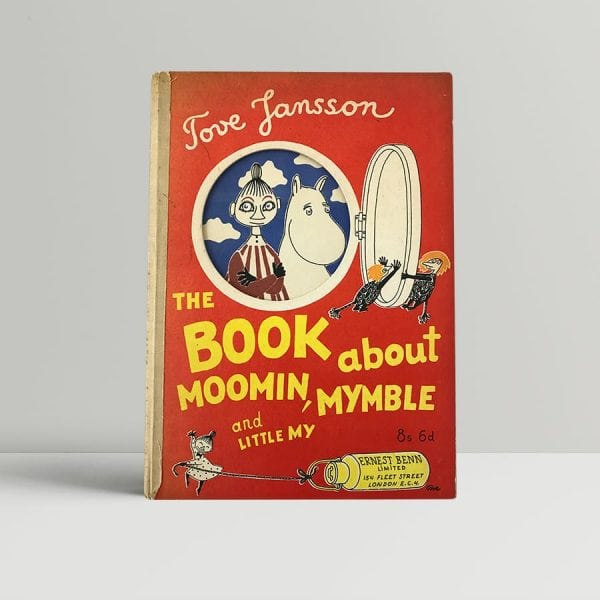 tove jansson the book about moomin mymble and little my first edition1