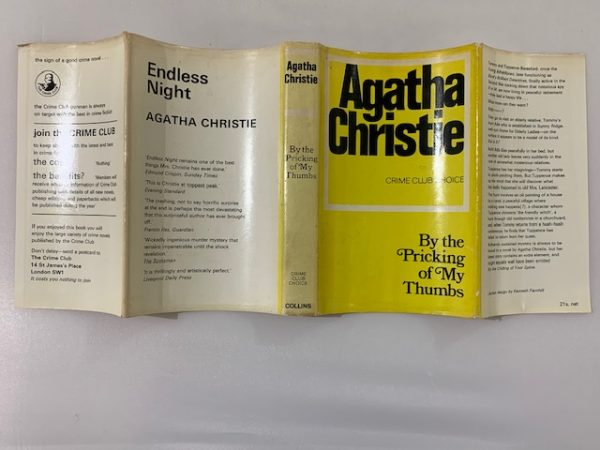 agatha christie by the pricking of my thumbs first ed4
