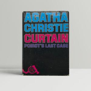 agatha christie curtain 1st editon 100 1