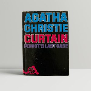 agatha christie curtain first ed1