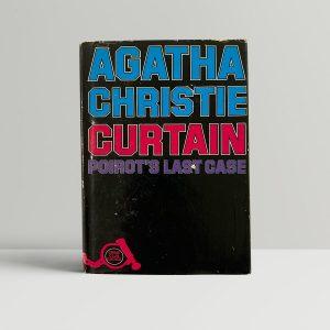 agatha christie curtain first ed1