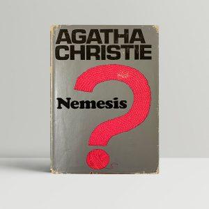 agatha christie nemesis first ed clipped1