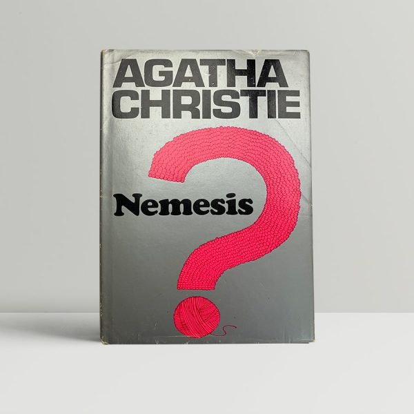 agatha christie nemesis first ed unclipped1