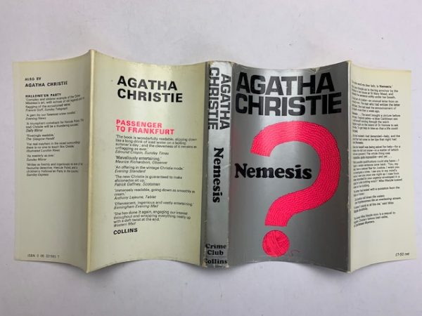 agatha christie nemesis first ed unclipped4