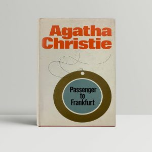 agatha christie passeneger to frankfurt first ed1