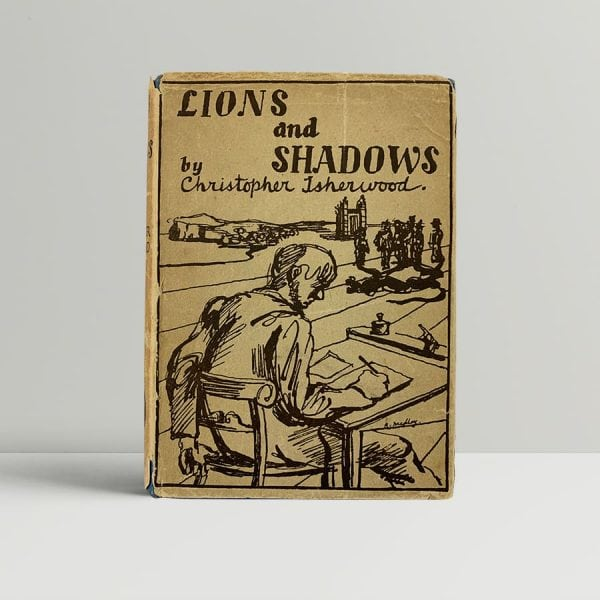 christopher isherwood lions and shadows signed first edition1