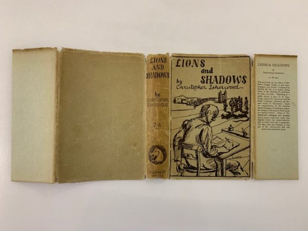 christopher isherwood lions and shadows signed first edition5