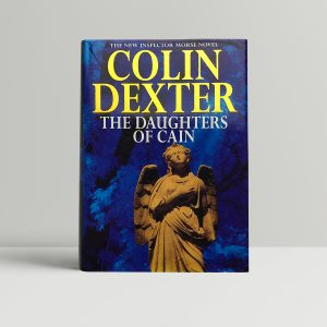 colin dexter the daughters of cain signed first edition1 1