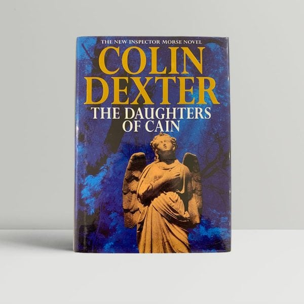 colin dexter the daughters of cain signed first edition1