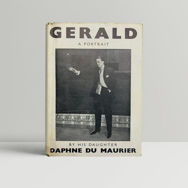 daphne du maurier gerald first edition with signed card1