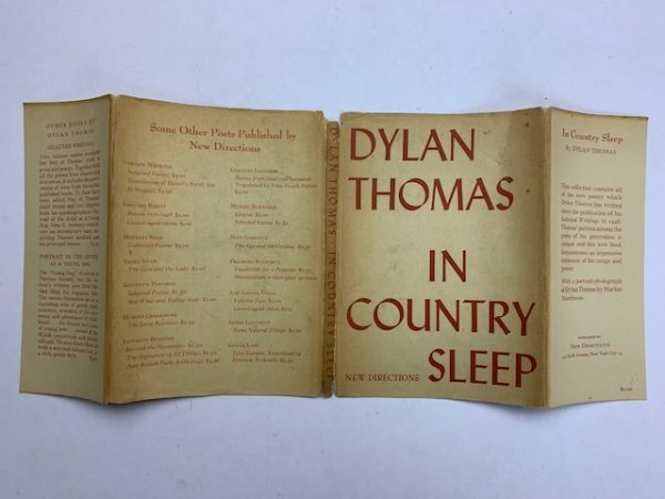 dylan thomas in country sleep first edition5