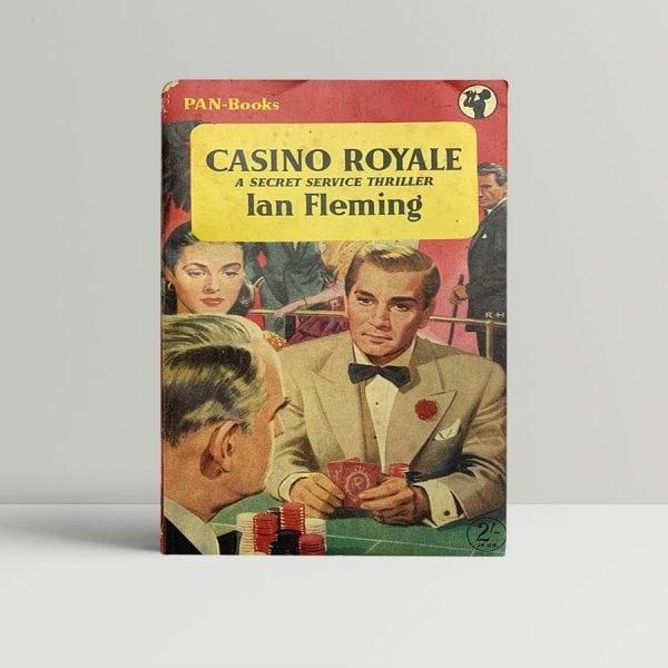 ian fleming paperback casino first ed1