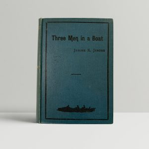 jerome k jerome three men in a boat first edition1