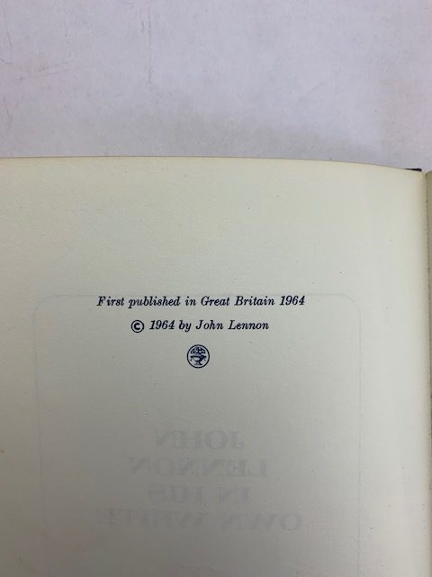 john lennon in his own write first edition2