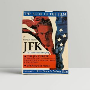 oliver stone zach sklar jfk signed book1