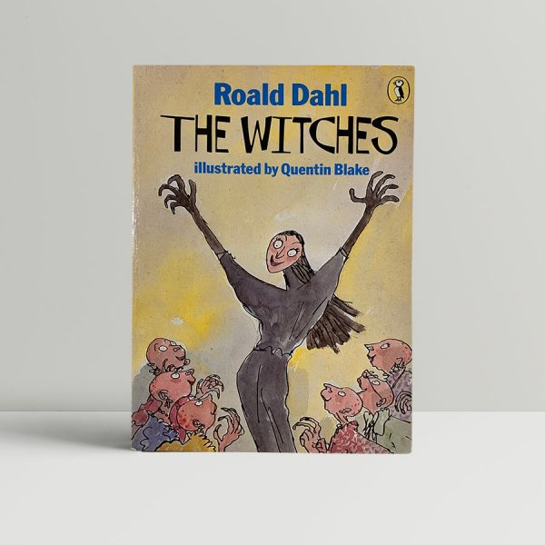 roald dahl the witches first edition double signed1