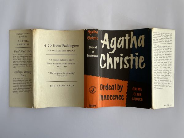 agatha christie ordeal by innocence first ed4