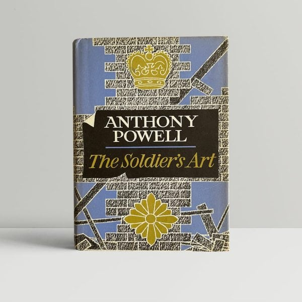 anthony powell soldiers art first edition1