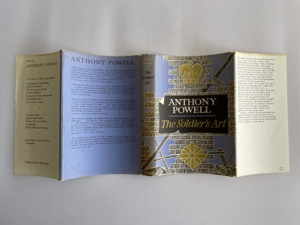 anthony powell soldiers art first edition4
