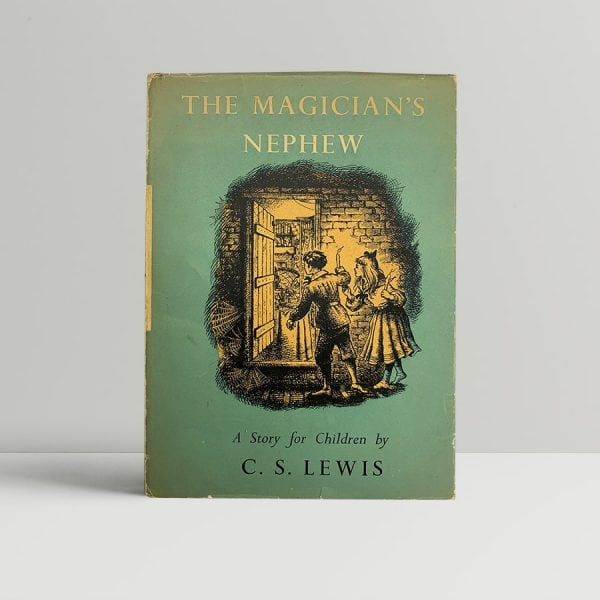 cs lewis the magicians nephew signed first edition1