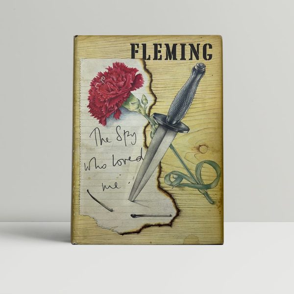 ian fleming the spy who loved me signed postcard1