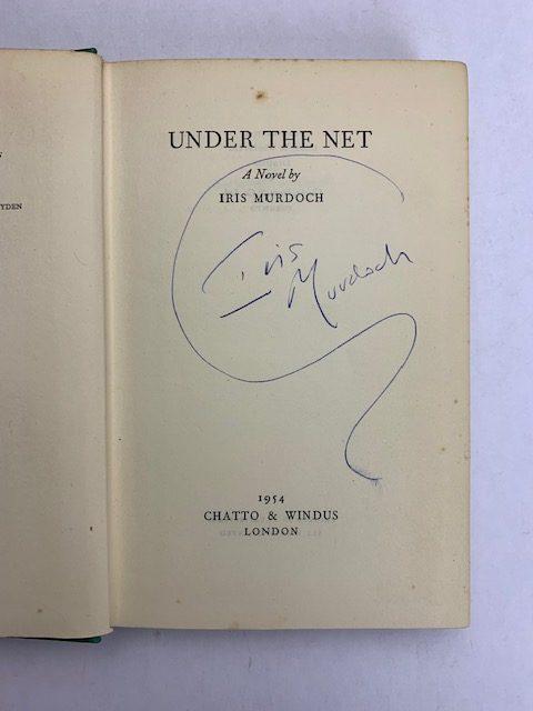 iris murdoch under the net first edition2