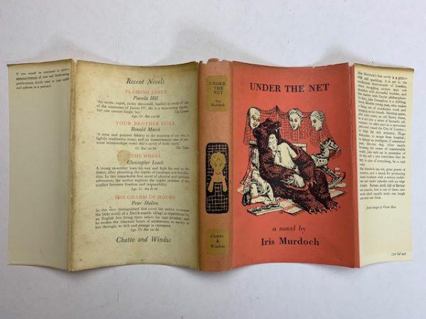 iris murdoch under the net first edition4