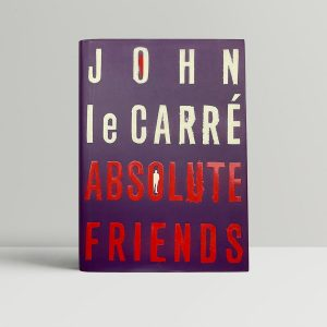 john le carre absolute friends signed first ed1