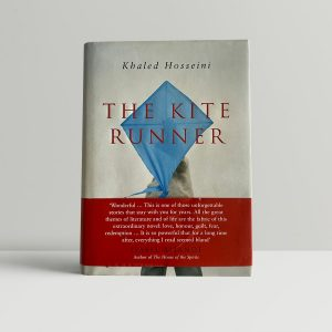khaled hosseini the kite runner first edition with band1