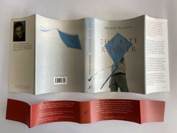 khaled hosseini the kite runner first edition with band4