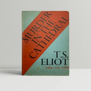 ts eliot muder in the catherdral signed first edition1