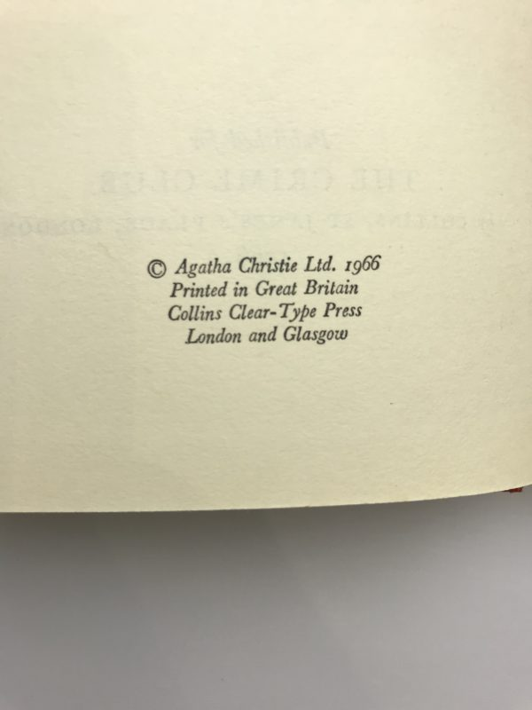 agatha christie a third girl first ed2
