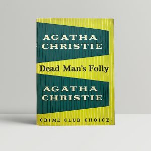 agatha christie dead mans folly first 175 1